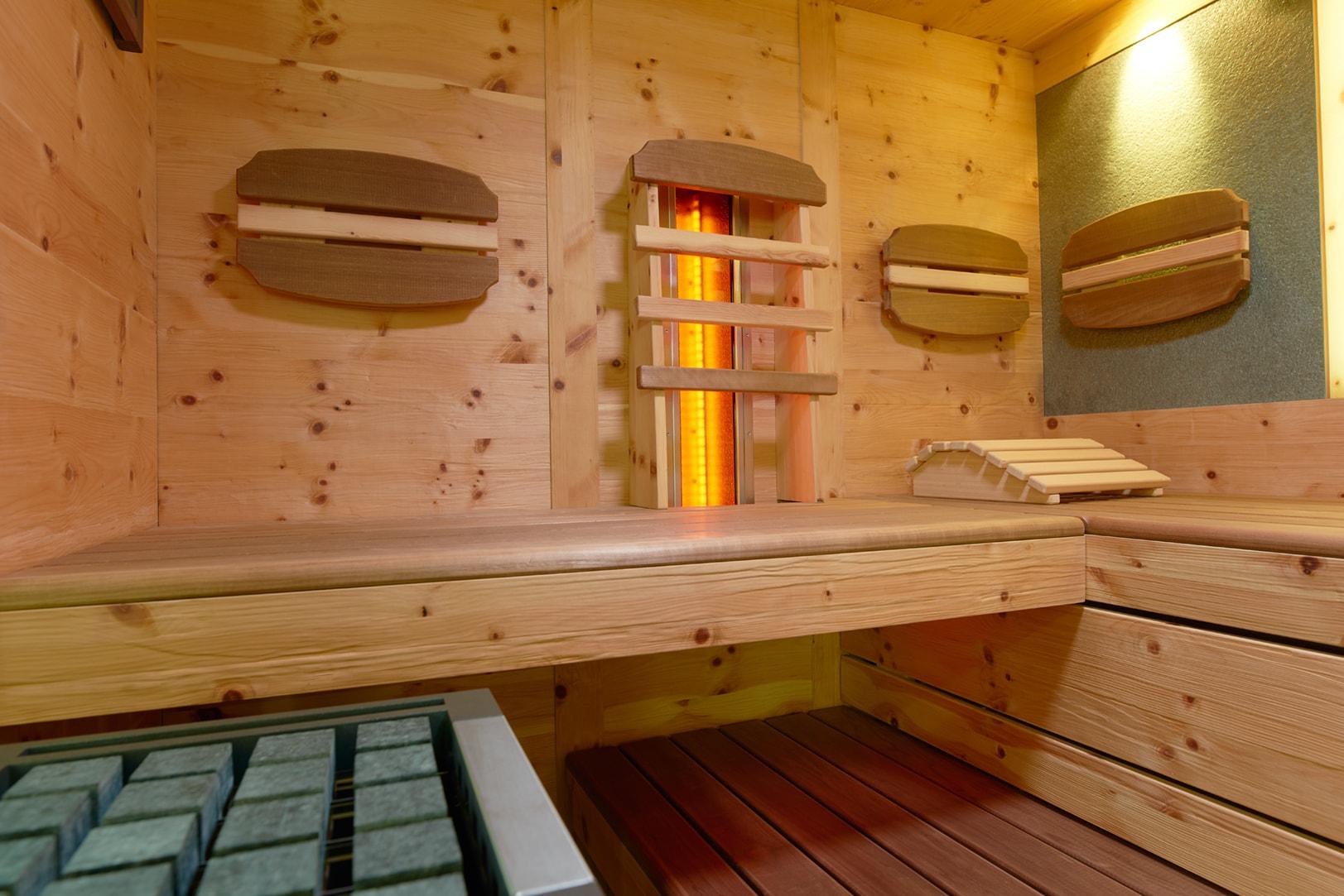 Schwimmbad Sauna Center Sauna Indoorsauna Infrarot Sauna