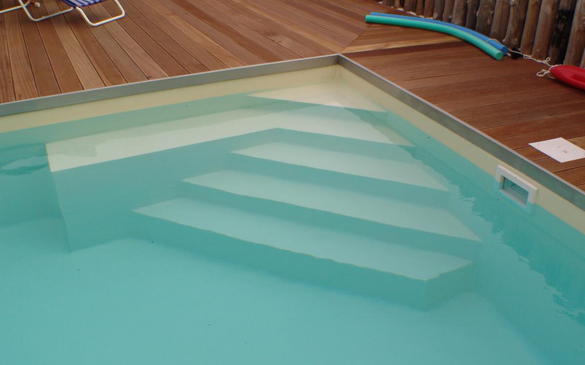 Schwimmbad Sauna Center Schwimmbad Einstiegsformen Eckstufe