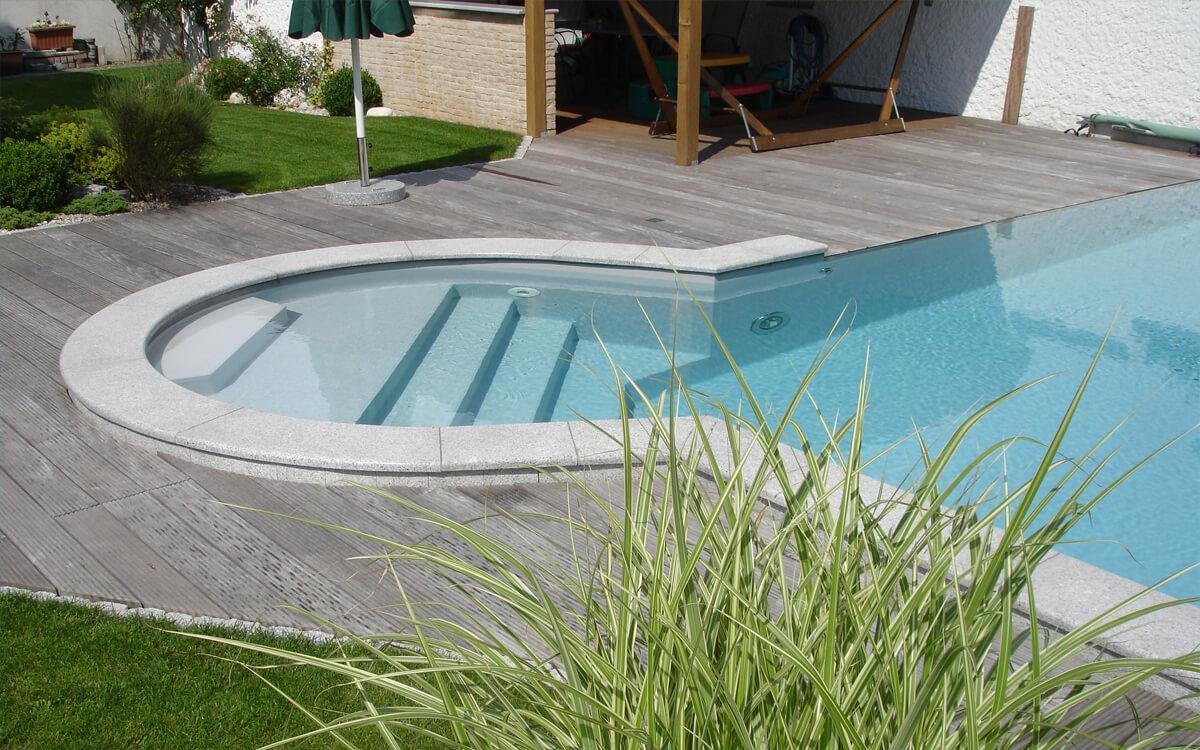 Schwimmbad Sauna Center Schwimmbad Einstiegsformen Stufe Römertreppe