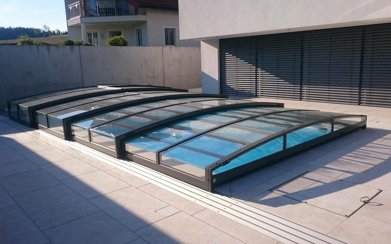 Schwimmbad Sauna Center Schwimmbad Überdachung Überdachungsarten