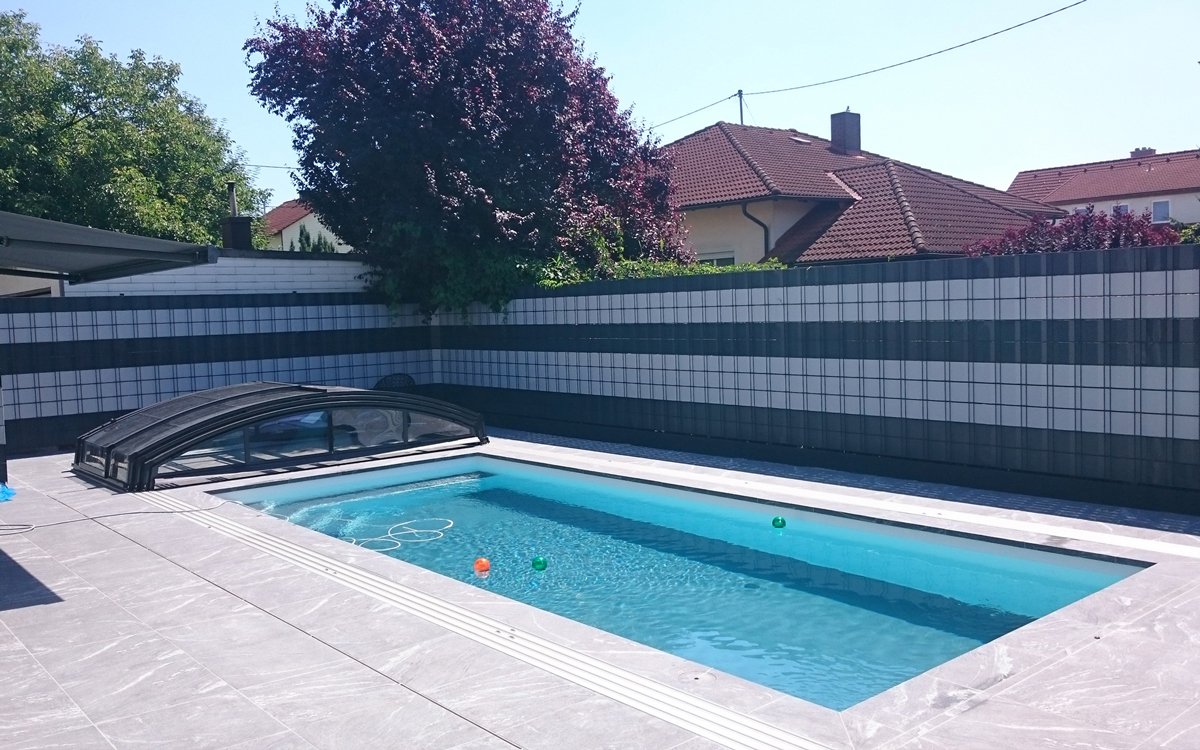 Schwimmbad Sauna Center Schwimmbad Folienarten / Folienfarben RENOLIT ALKORPLAN2000 dunkelgrau