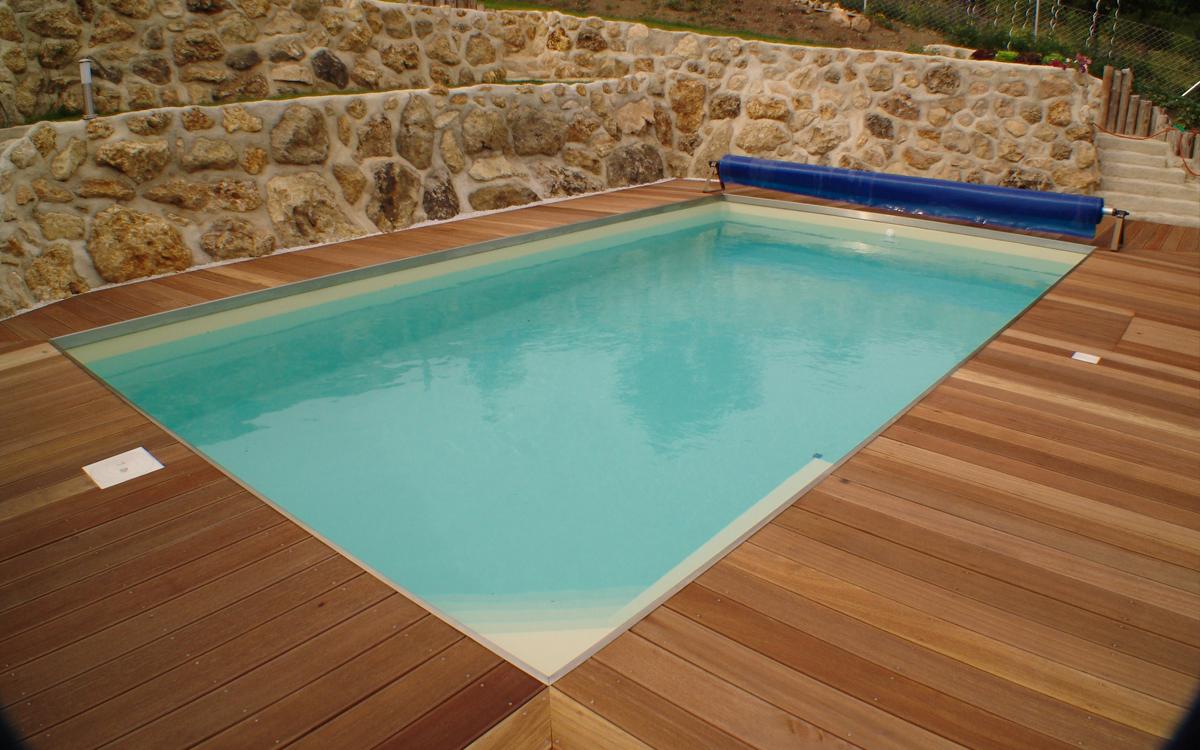 Schwimmbad Sauna Center Schwimmbad Folienarten / Folienfarben RENOLIT ALKORPLAN2000 sand