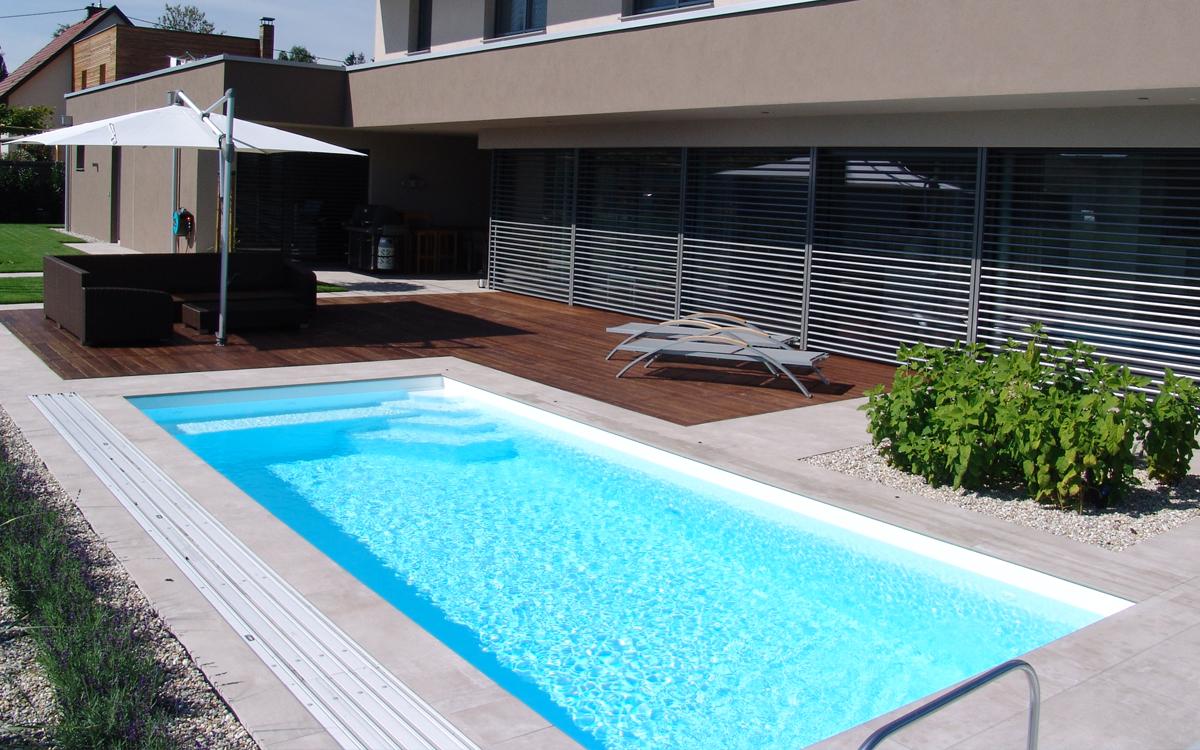 Schwimmbad Sauna Center Schwimmbad Folienarten / Folienfarben RENOLIT ALKORPLAN2000 weiß